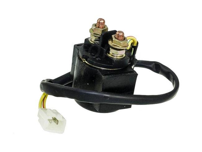 b58d55b989b relé spínač startéru skútr GY 6 4T - konektor samice