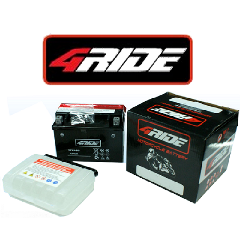 baterie YTX4L-BS    4RIDE