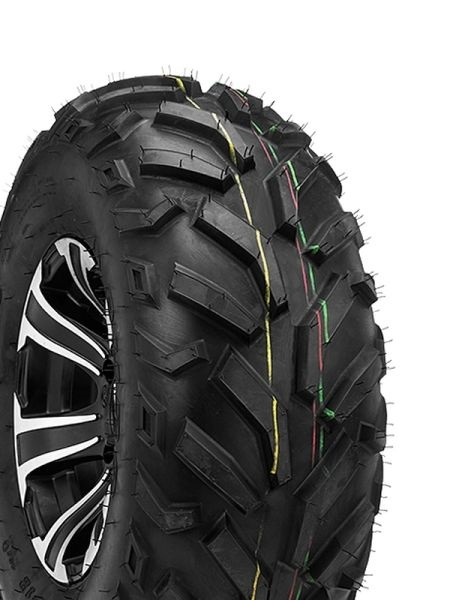 25 x 8 - 12 pneu ATV  DURO 25x8-12 TL 38J DI2013 RED EAGLE